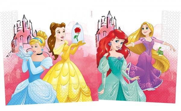 20 Disney Princess Eco Servietten 33cm