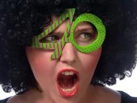 Crazy 40th Birthday Partybrille