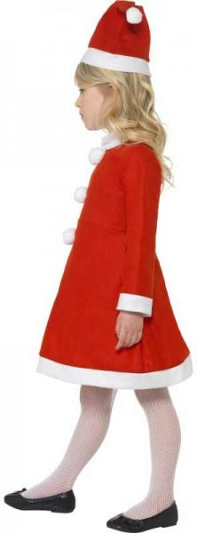 Christmas girl Santa Clara child costume
