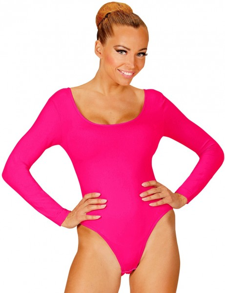 Body clásico para mujer rosa