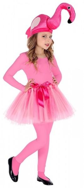 Süße Flamingo Verkleidungsset für Kinder 2-teilig