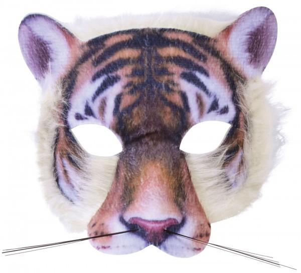 Tiger Maske Mit Fell Für Erwachsene
