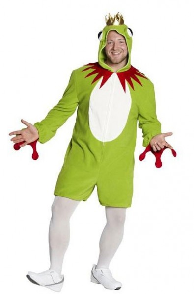 Fairytale frog prince men's costume