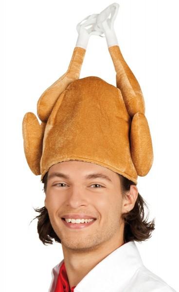 Saftige Hähnchen Mütze
