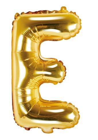 Folienballon E gold 35cm
