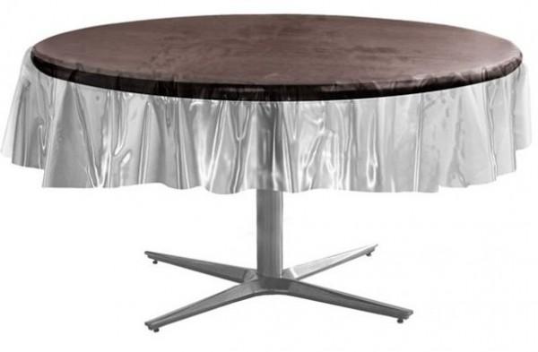 Runde Kunststoff Tischdecke Savona 2,13m