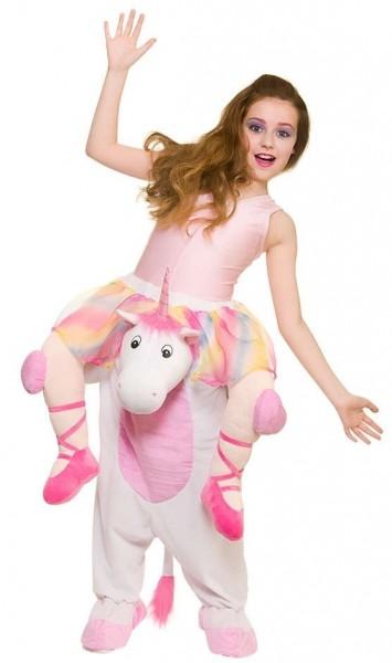 Magical piggyback unicorn kids costume
