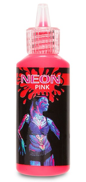 Pinkes Neon Make Up