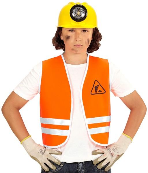 Bobby bouwvakker kinderen veiligheidsvest