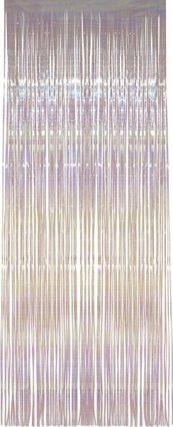 Schimmernder Vorhang In Weiß 91 x 244cm