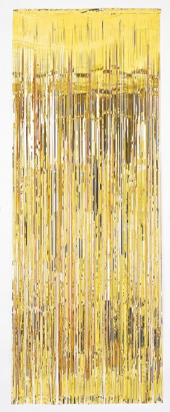 Golden door curtain 2.4mx 91.4cm