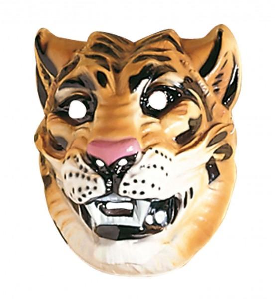 Masque de tigre sauvage adulte