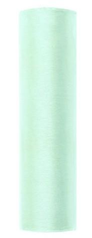 Tissu Organza Julie mint 9m x 16cm