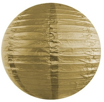 Lampion Lilly gold 35cm