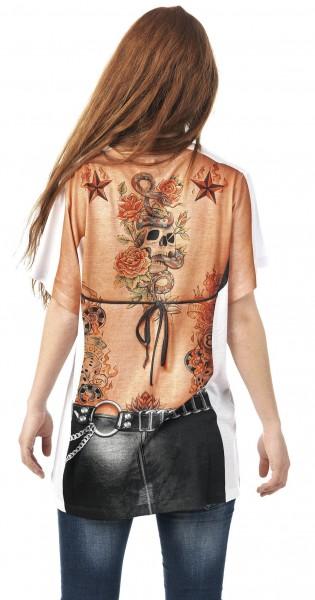 Rocker bride shirt for women