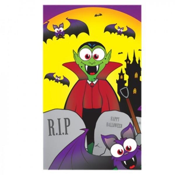 Halloween Notizbuch 10cm