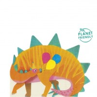 16 Dino Party Servietten 33cm