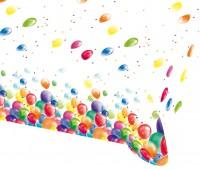 Balloon Carnival Tischdecke 1,8 x 1,2m