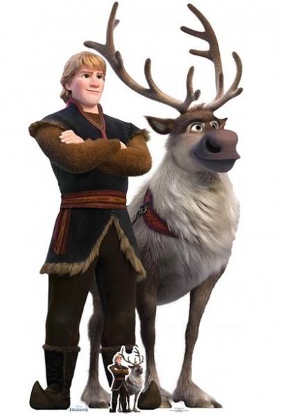 Frozen Aufsteller Kristoff & Sven