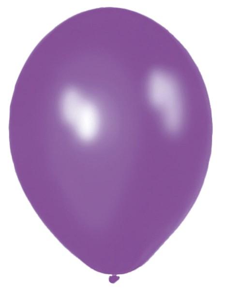 10 Ballons Classic lila 30cm