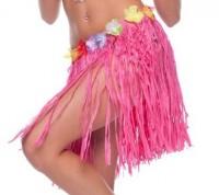 Hawaii Rock rosa Fransen 45cm