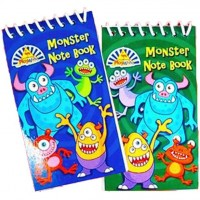 1 Monster Rave Notizblock