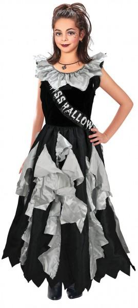 Miss Halloween Mädchenkostüm