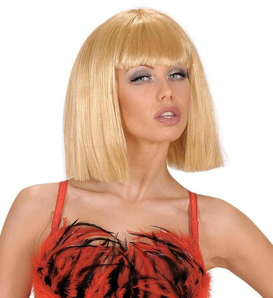 Blonde Pagenkopf Damenperücke Kyra