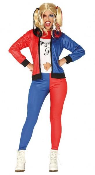 Dangerous Girl Harleen Kostüm für Damen