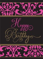 Fabulous Birthday Tischdecke 2,59 x 1,37m
