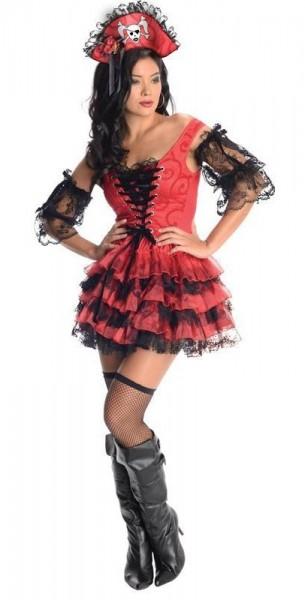 Sexy piraat Jane Lady kostuum