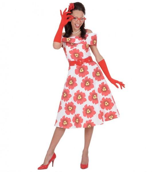 Elegante røde handsker 37cm