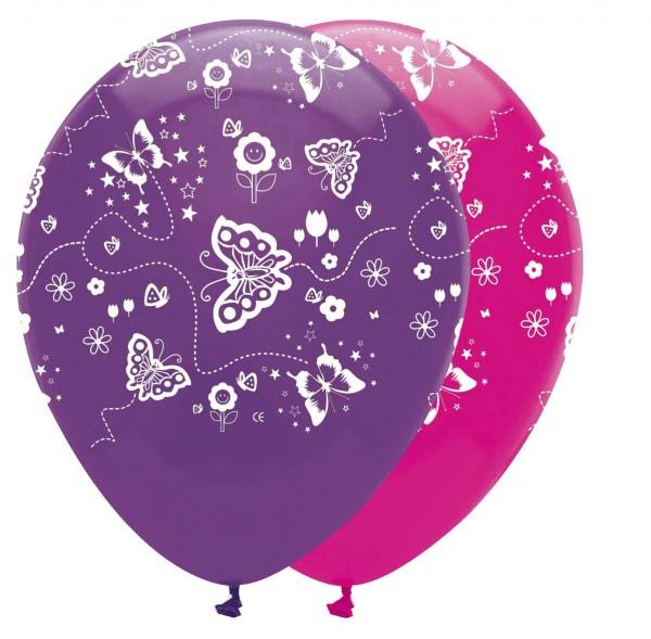 6 Flower Fairy Luftballons 30cm