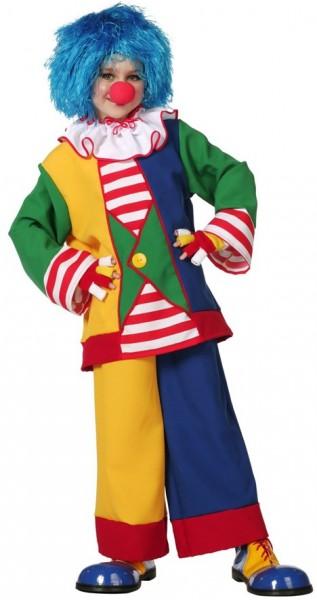 Bunter Clown Beppo Kinderkostüm