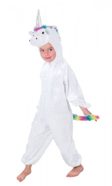 Rainbow unicorn kids costume