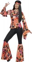 Hippie Discolady Kostüm Davina