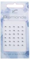 Haut Und Nagel-Diamanten Silber