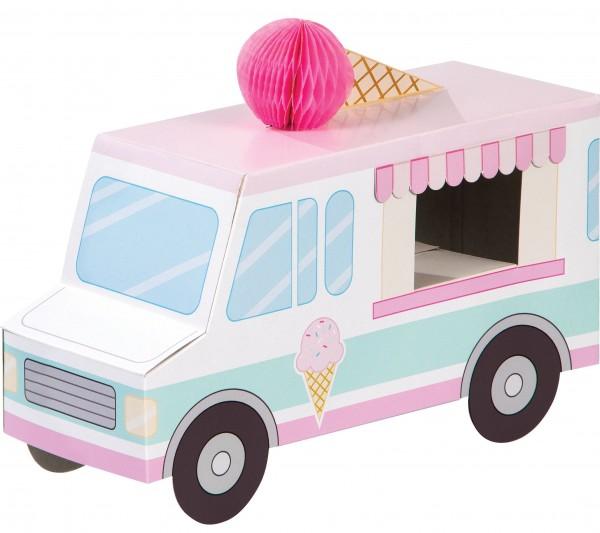 Ice magic wagon decoration figure