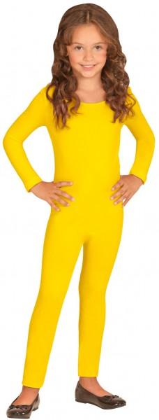 Body enfant manches longues jaune