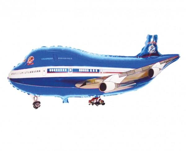 Folienballon Flugzeug Rudi 101cm