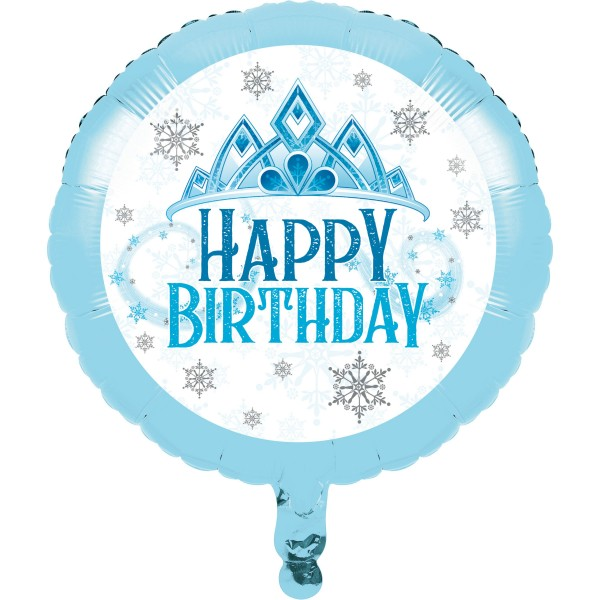 Eisprinzessin Birthday Folienballon 46cm