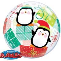 Weihnachts Ballon Pinguin 56cm