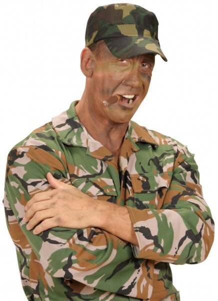 Bundeswehr Camouflage Kappe