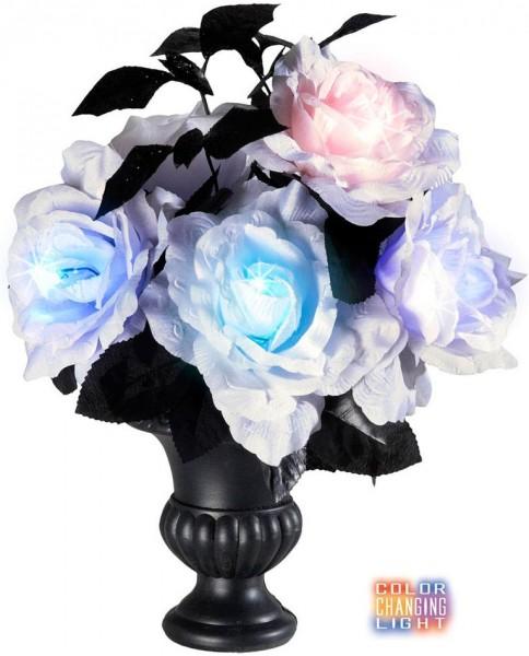 Deko Blumenvase Mit Leuchteffekten
