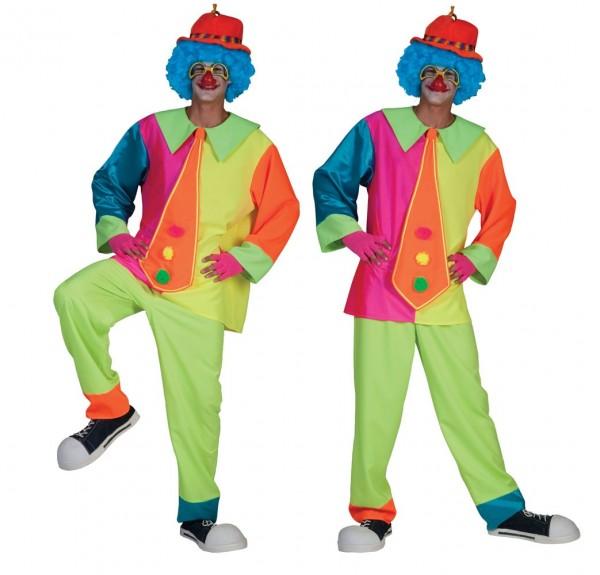 Clown Gibby Herrenkostüm