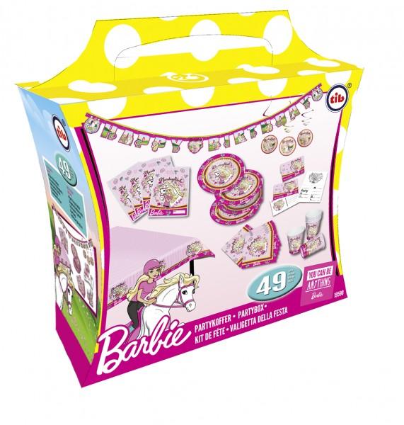 Party Set Barbie Kindergeburtstag 49 Teilig