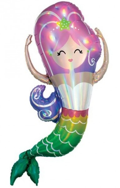 Balon foliowy Mermaid Perla 1,04m