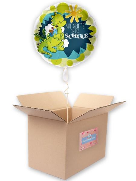 Einschulung Folienballon Drache 43cm