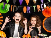 Hexenhaus Trick or Treat Girlande 1m