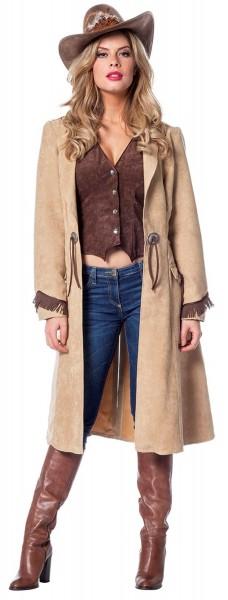 Edles Cowgirl Kostüm für Damen